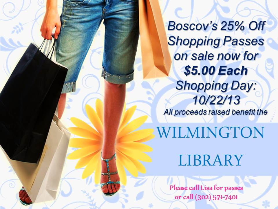Boscov's 25% Off Shopping Passes